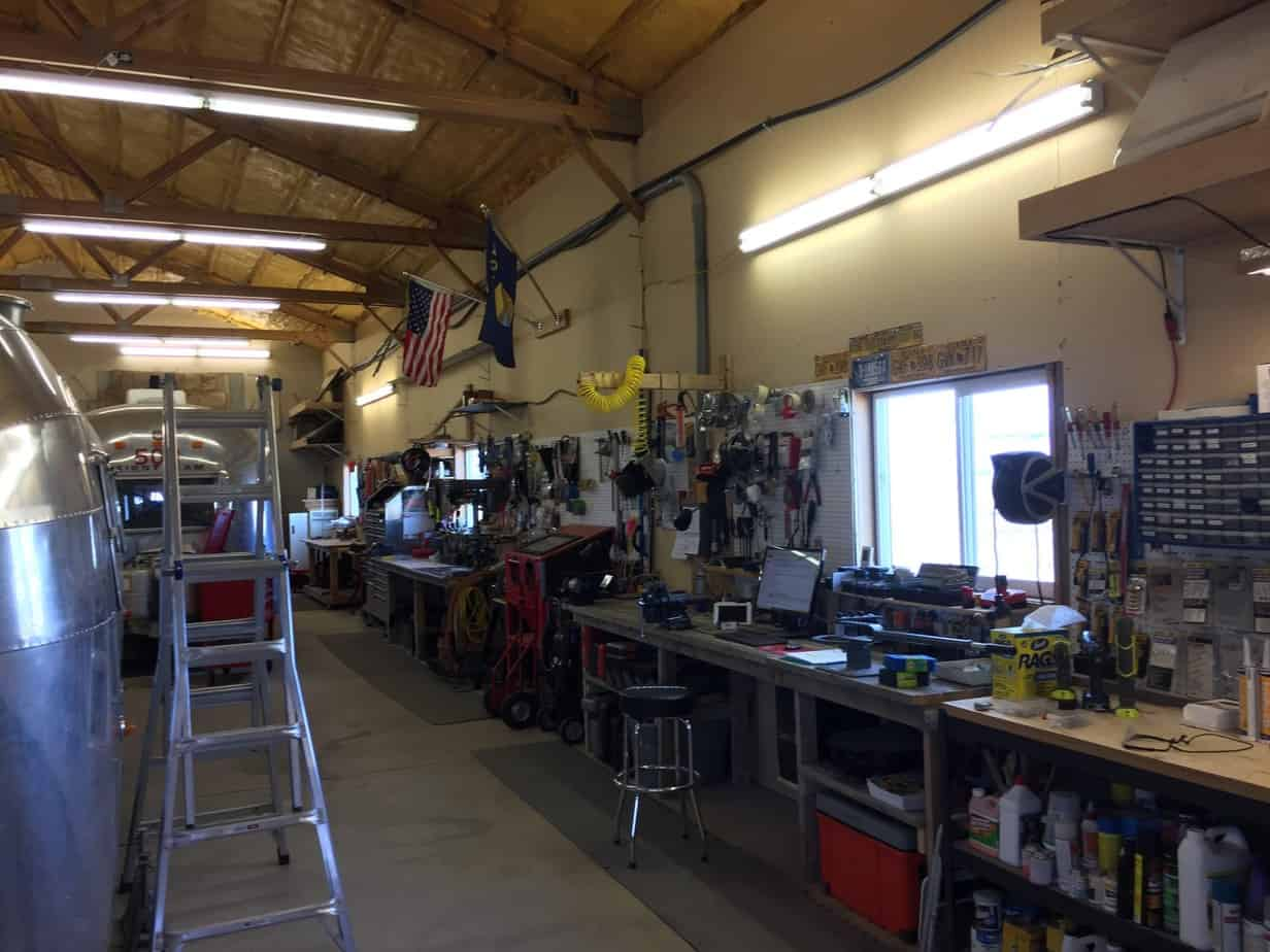 Our Airstream Restoration Shop. This is where we service Airstream Restoration Projects for Clients